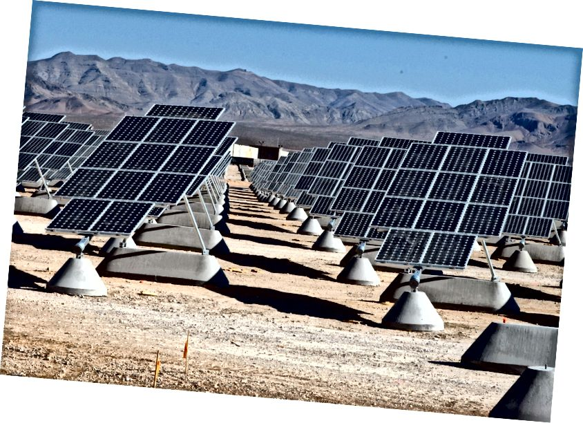 Solárna elektráreň Nellis