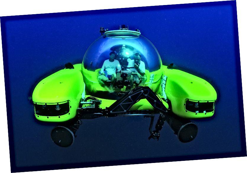 Ponorka Deepsea Challenger