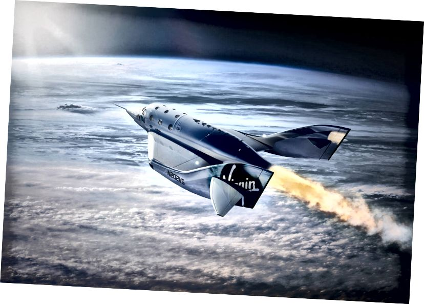 Virgin VSS Unity SpaceShipTwo