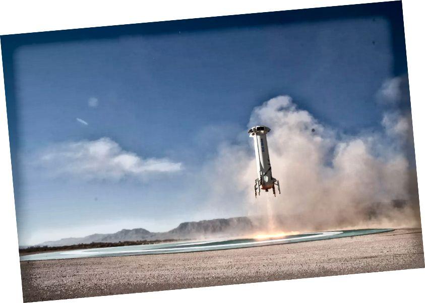 Modrá pôvodná raketa