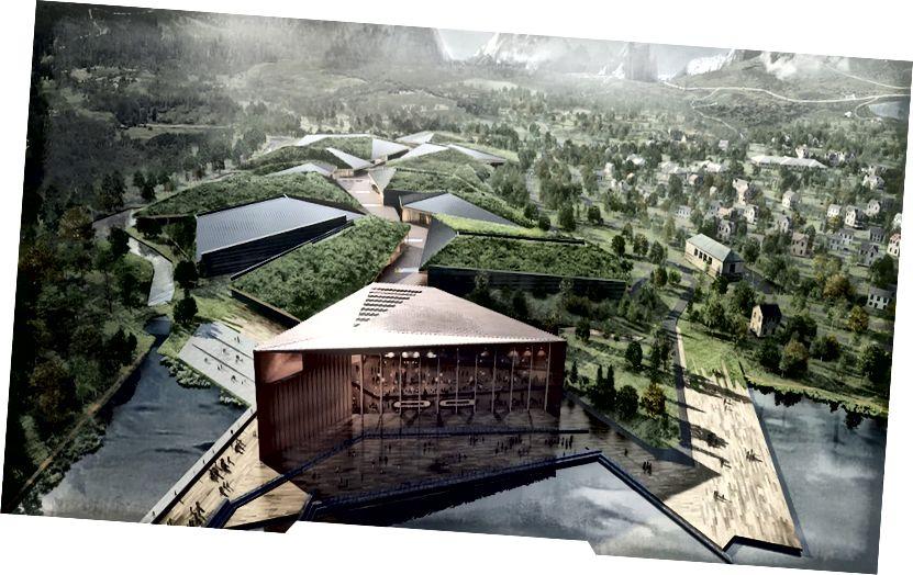 Koncept udržateľného dátového centra Kolos