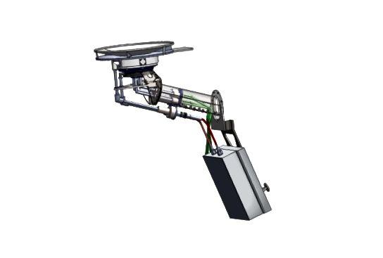 3) WISPR optiske teleskoper. 4) En Faraday kop, del af SWEAP-eksperiment. Kreditter: JHUAPL