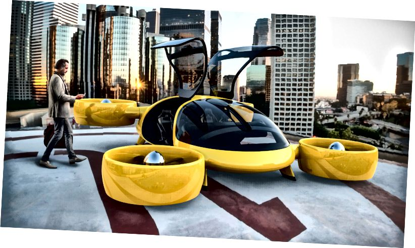 Bartini Flying Car Concept