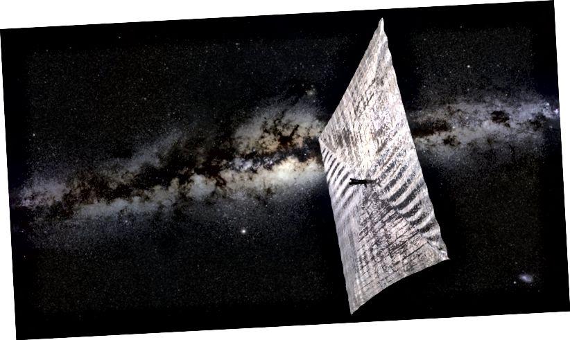 У гэтым годзе планетарнае таварыства паспрабуе правесці першы кіраваны палёт сонечнага ветразя на арбіце Зямлі, запусціўшы LightSail 2.