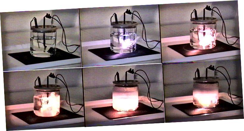 Ein Gerät, das entwickelt wurde, um eine funktionierende Kaltfusionsreaktion zu simulieren, aber das war tatsächlich eine absichtliche Täuschung. Bildnachweis: Juan-Louis Naudin, 2003.