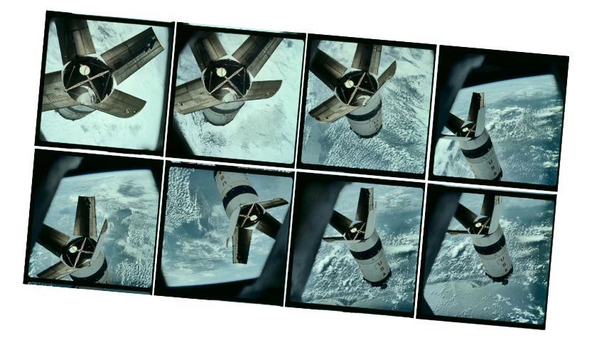 Bilder über das Projekt Apollo Archive
