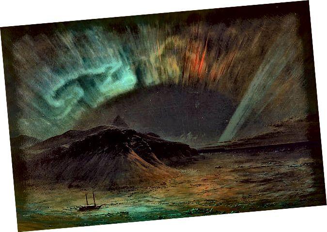 Pintura de Frederic Edwin Church de 1865