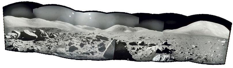 Zusammengestellte Bilder über Project Apollo Archive