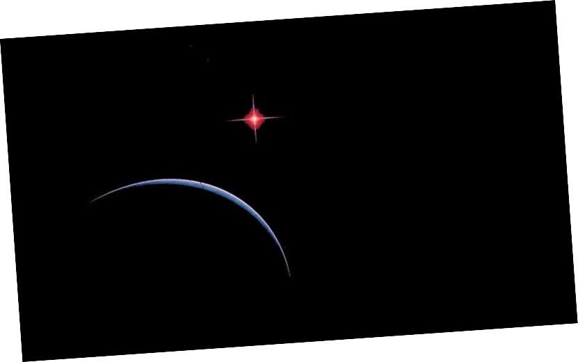 Esimeste tähejääkide täielikuks jahtumiseks kulub sadu triljoneid aastaid, tuhmudes valgest kääbast punase, infrapuna ja lõpuni tõelise musta kääbuni. Selleks ajaks ei moodusta Universum vaevalt üldse ühtegi uut tähte ja kosmos on enamasti must. Kujutise krediit: kasutaja Toma / Space Engine; E. Siegel.