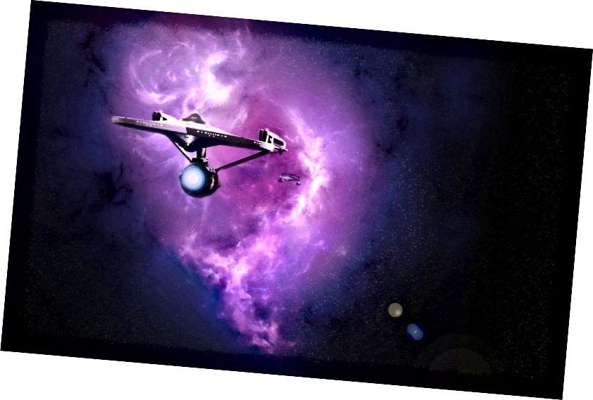 Мутара тұман және Star Trek-тен басталған кәсіпорын. Несие: DeviantArt, CC BY-SA 3.0 бойынша 1артвадер