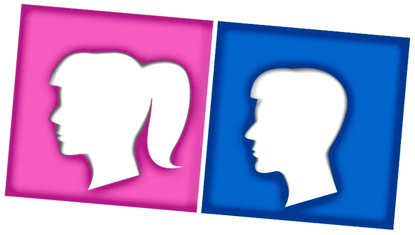 В повечето общества по света розовото се свързва с жени и момичета, докато синьото се свързва с мъже и момчета. Това може да е вярно средно, но това не говори както за предпочитанията на всеки конкретен индивид, така и за вродения компонент на такива различия. Всъщност доказателствата, че съществува социален фактор, който доминира, са превъзходни. (Гети)