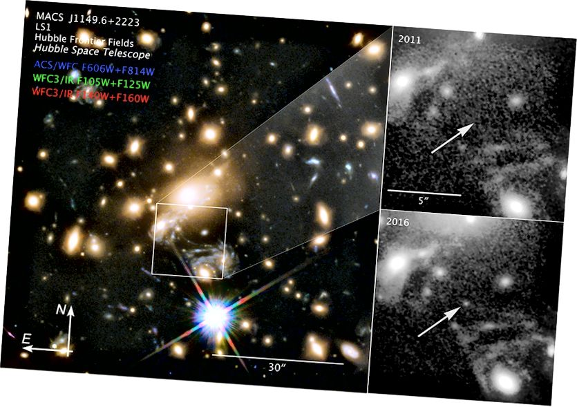 Откриване на звезда Икар