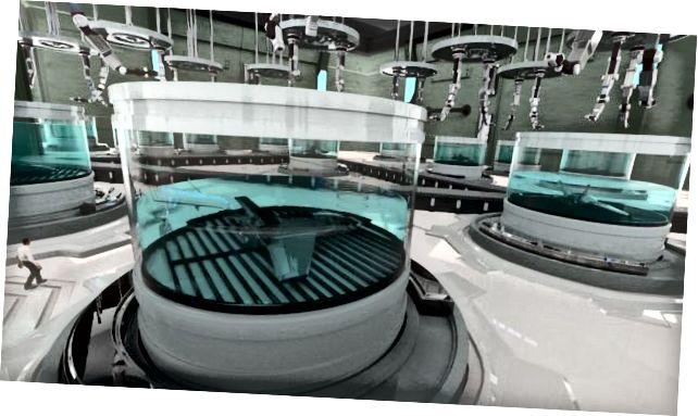 """BAE Systems zeigt, wie der Chemputer-Prozess beim """"Wachsen"""" von Drohnen aussehen würde."""