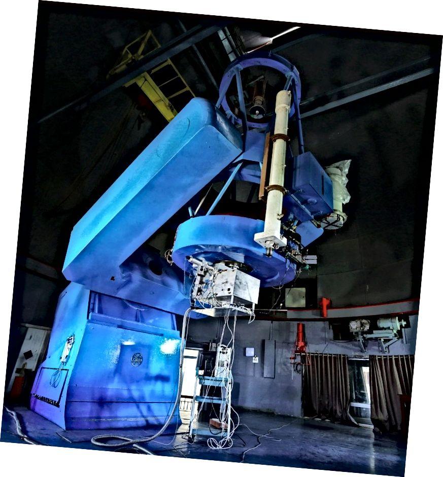 Spektrograf PARAS di Observatorium Gunung Abu. Kredit: PRL