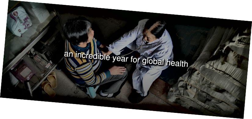 Գյուղի բժիշկը հետազոտում է հիվանդին Չինաստանի Նանինգ քաղաքում: (Պատկերի կրեդիտ. Lu Boan / VCG)