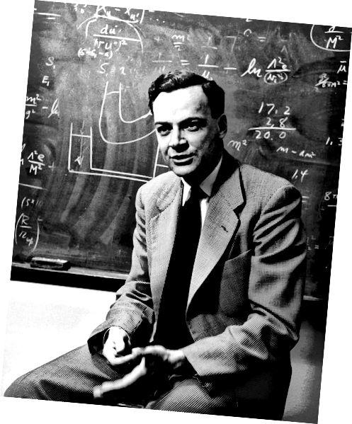 Fisiceoir Richard Feynman, Athair Bunaitheach na Nanaitheicneolaíochta.