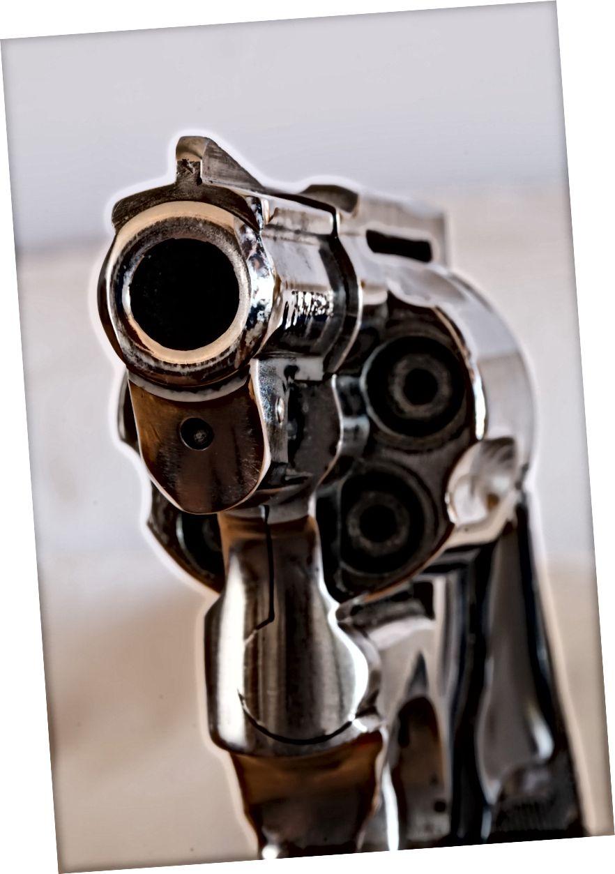Пушкі забіваюць людзей. Гэта літаральна тое, што яны былі распрацаваны