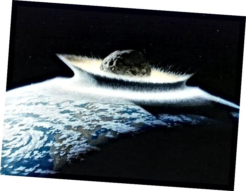 prethodni modeli sugerirali su da se voda Zemlje dovodi putem udara asteroida