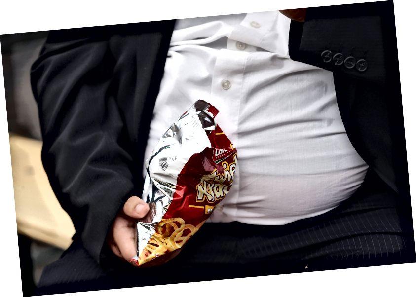 Bezvrijedna hrana može biti faktor koji pridonosi, ali aktiviranje određenih gena je previše. Foto: Sean Gallup / Getty Images