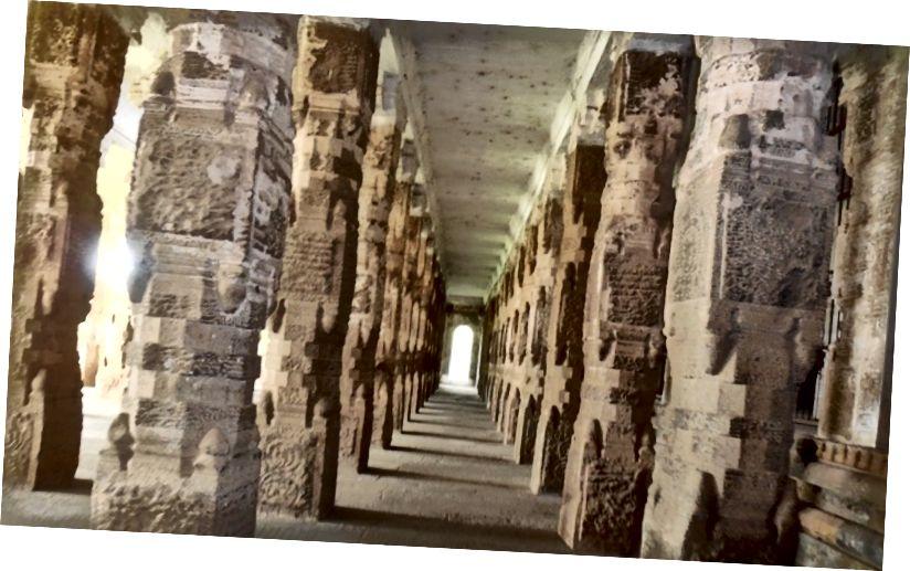 1000 слуповых залаў у храме Чыдамбарам, Таміл Наду