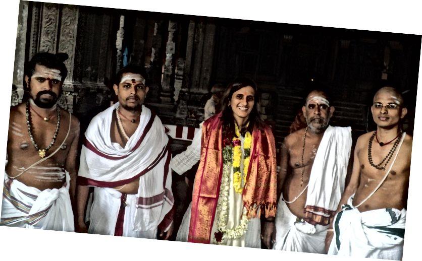 Матрос з Чыдамбарам Дэкшыдхарс (храмавыя святары)