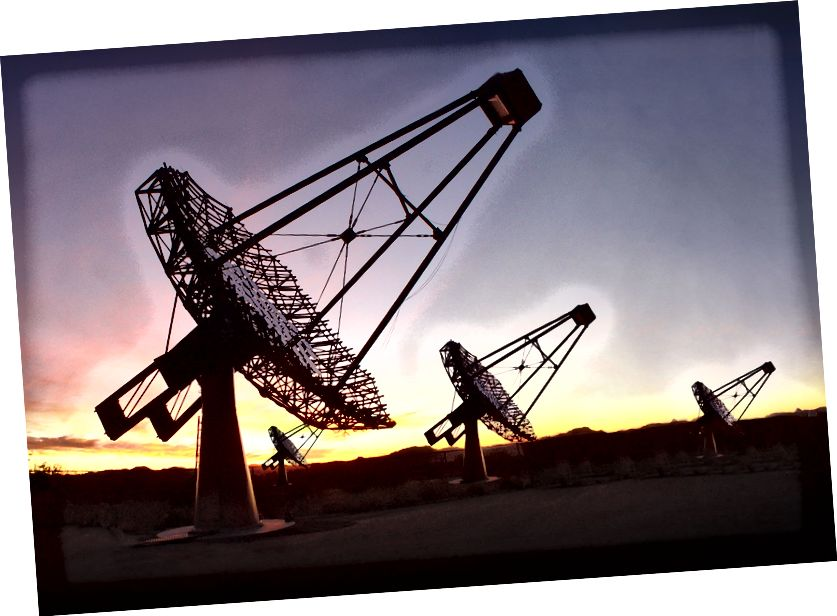 VERITAS teleskop (Universitas Chicago)
