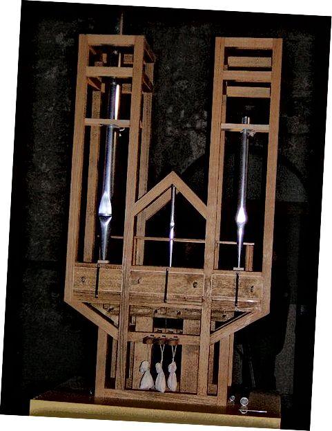 Орган Фабера пабудаваны спецыяльна для выканання Клеткі