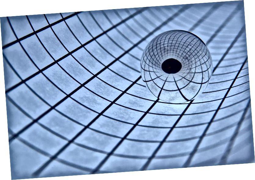 Калі сама гравітацыя не з'яўляецца асноўнай сілай, а хутчэй узнікае, то многія таямніцы прасторы і часу могуць мець іншае рашэнне, чым тыя, якія мы зараз шукаем. Малюнак: Zoltán Vörös з flickr.