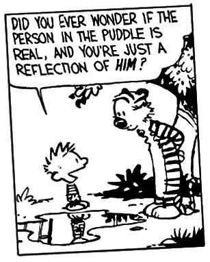 Calvin and Hobbes autorstwa Billa Wattersona