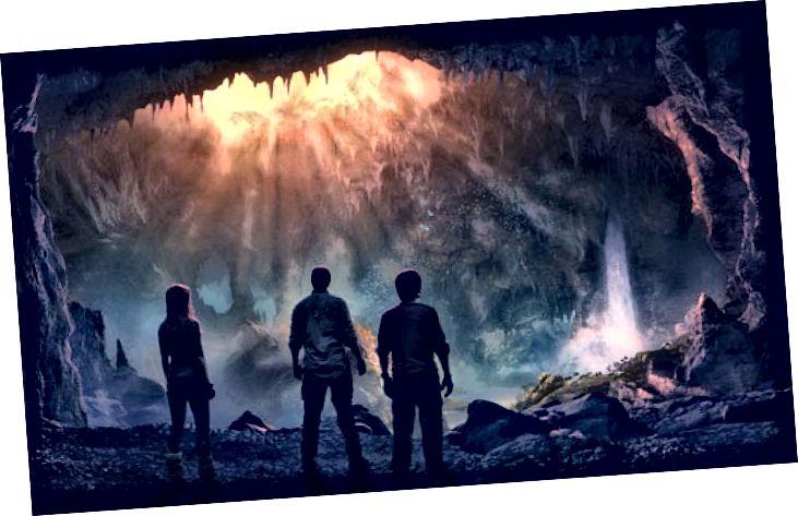 Плакат фільма: Падарожжа ў цэнтр Зямлі