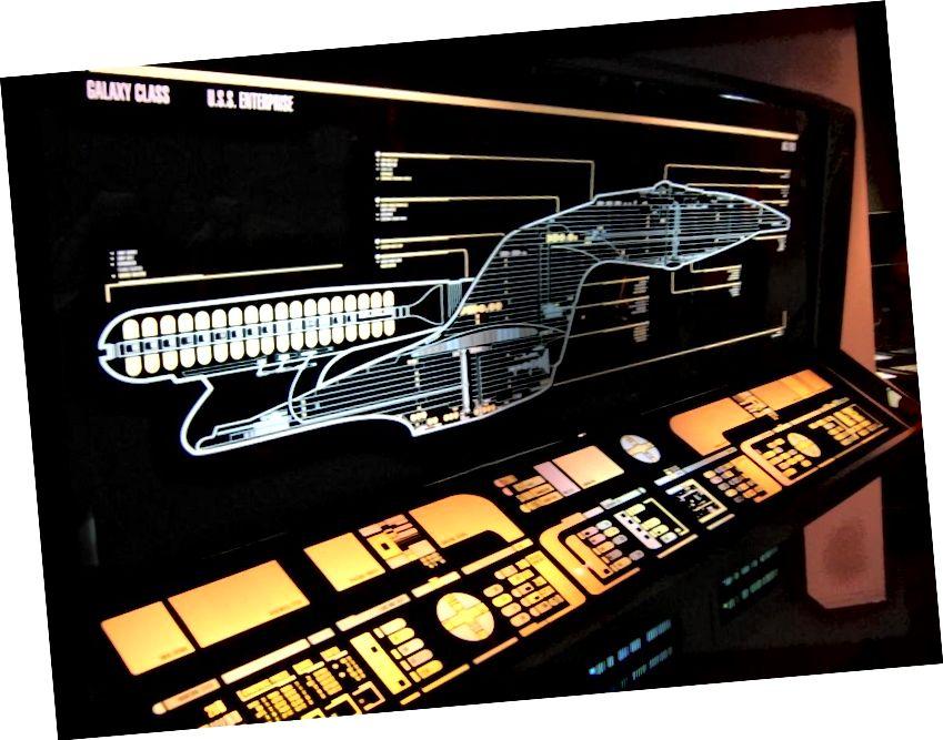 System napędu osnowy na statkach Star Trek był tym, co umożliwiało podróżowanie z gwiazdy na gwiazdę. Gdybyśmy mieli tę technologię, moglibyśmy z łatwością pokonać odległość do gwiazd, ale na dzień dzisiejszy pozostaje to w sferze science fiction. Napęd zarodników Star Trek Discovery otwiera nowy możliwy mechanizm szybszej podróży niż światło, który może być nawet lepszy niż napęd warp. (ALISTAIR MCMILLAN / CC-BY-2.0)