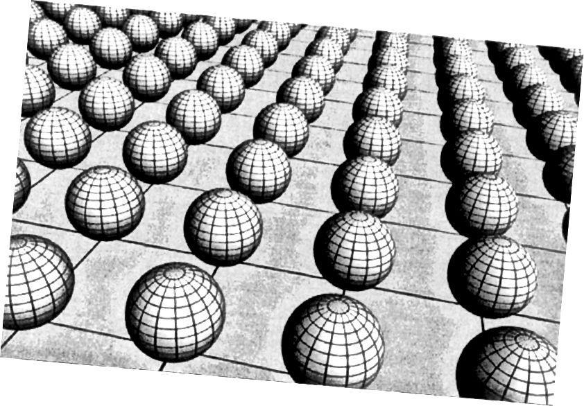 Jeśli istnieją dodatkowe wymiary, muszą być bardzo małe. Nawet przy największych dopuszczalnych wartościach czas zanikania czarnej dziury utworzonej w LHC byłby nadal wydłużony do zaledwie ułamka sekundy. Ale gdyby dodatkowe wymiary były prawdziwe, nagle istniałaby możliwość wyjścia z naszego wszechświata 3D, przejścia przez czwarty wymiar przestrzenny i ponownego wejścia w całkowicie rozłączonym punkcie czasoprzestrzeni. (FERMILAB DZISIAJ)