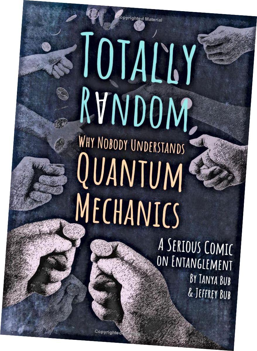 Mengapa Anda tidak bisa menceritakan kisah mekanika kuantum dalam format novel grafis, dan mendasarkan semuanya pada satu eksperimen? Dalam bacaan yang sangat kreatif ini, Tanya dan Jeffrey Bub menunjukkan bagaimana itu dilakukan dengan benar. (TANYA BUB & JEFFREY BUB / PRINCETON UNIVERSITY PRESS)