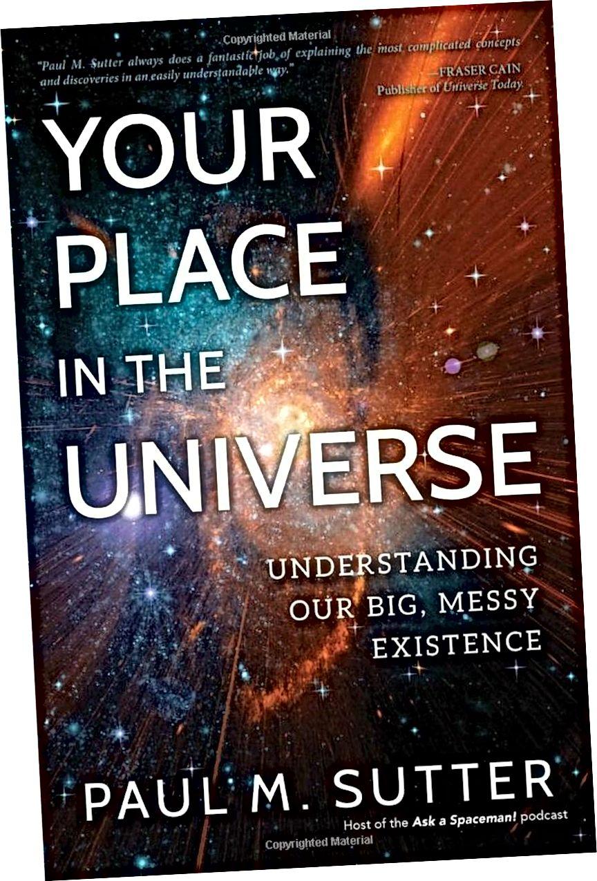 Jika Anda menginginkan buku yang mencakup semua keberadaan dan bagaimana kami menemukan Semesta dengan cara yang mudah dibaca, mudah diakses, ramah, dan langsung, Your Place In The Universe akan memuaskan Anda sebagai pilihan terbaik tahun 2018. (PAUL MATT BUKU SUTTER / PROMETHEUS)