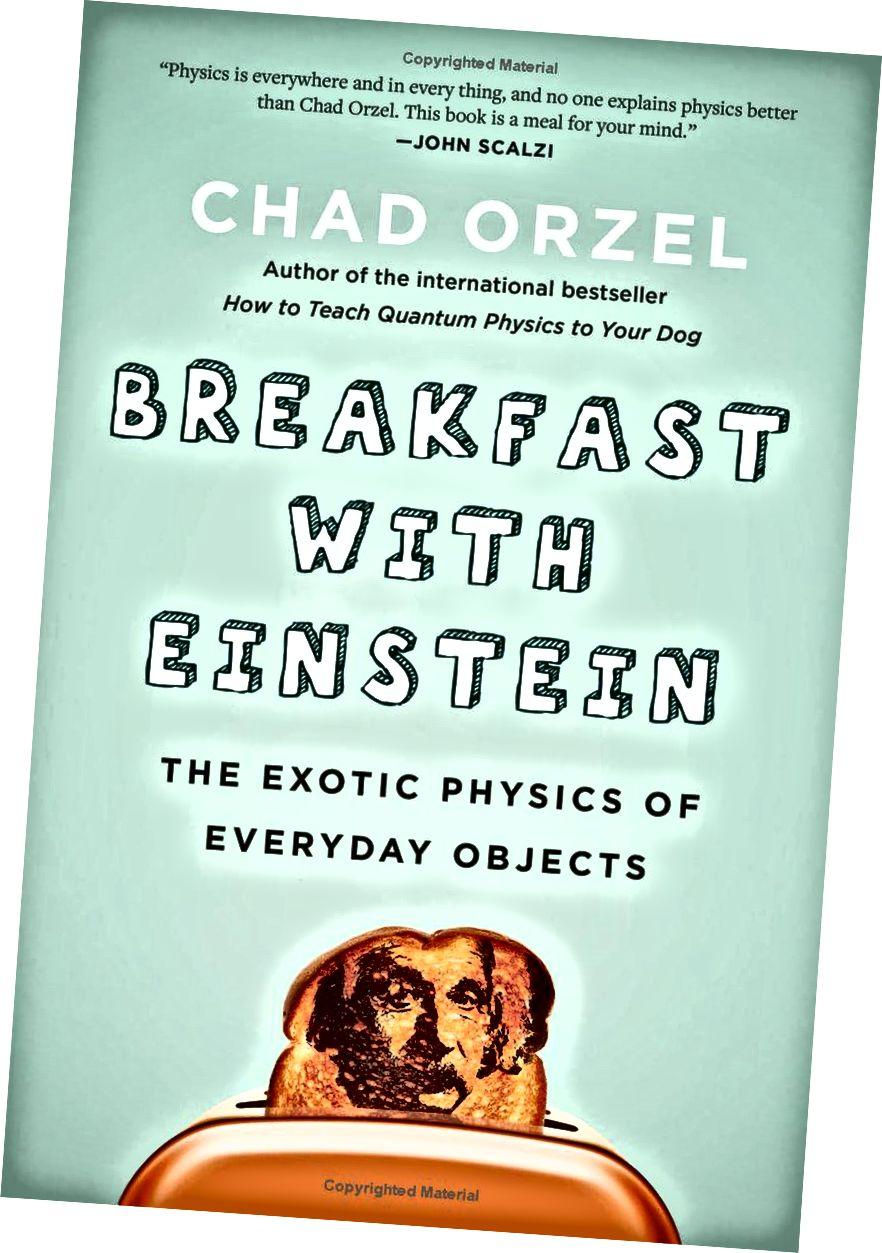 Breakfast With Einstein mungkin adalah buku terbaik tentang fisika yang mendasari benda sehari-hari. (CHAD ORZEL / BENBELLA BOOKS)
