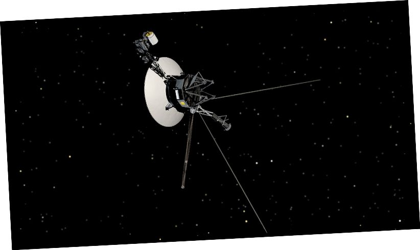 Rappresentazione artistica di Voyager 1 (NASA)