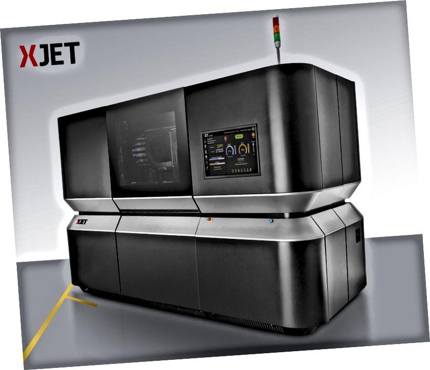Εκτυπωτής XJet 3D