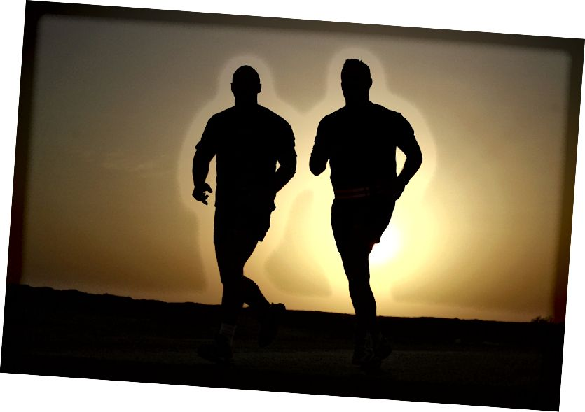 A futás mindenkinek jó. Több a kár