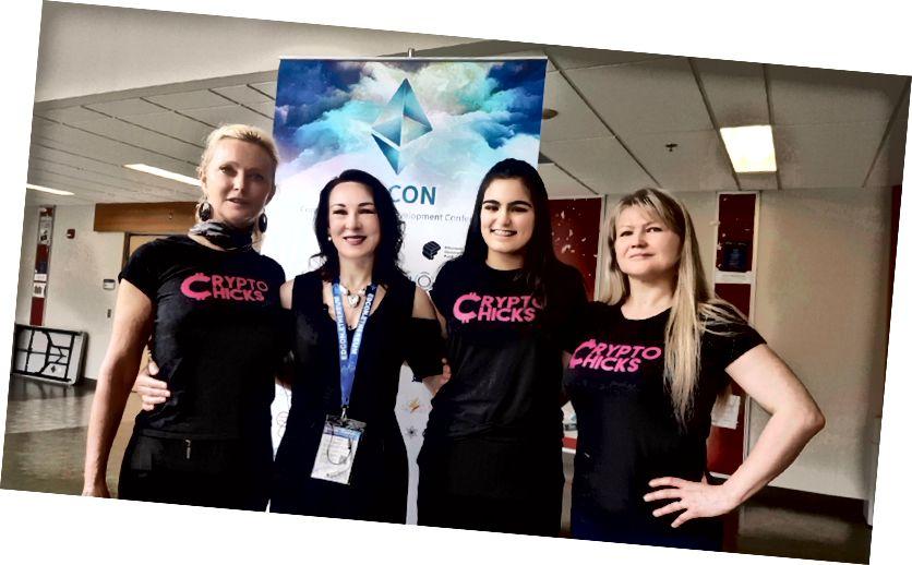 Наталия Хърн, Анна Ниемира, Анания Чада, Елена Синелникова