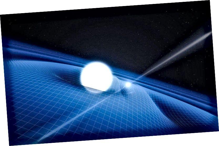 Olenemata sellest, kas kasutatakse Newtoni või Einsteini gravitatsioonikoostist, määratakse jõu tugevus osaliselt gravitatsioonikonstandi G väärtusega, mille väärtust tuleb mõõta empiiriliselt ja mida ei saa tuletada ühestki teisest suurusest. (ESO / L. CALÇADA)