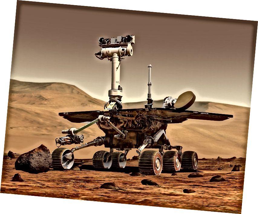 Выява Mars Rover НАСА.