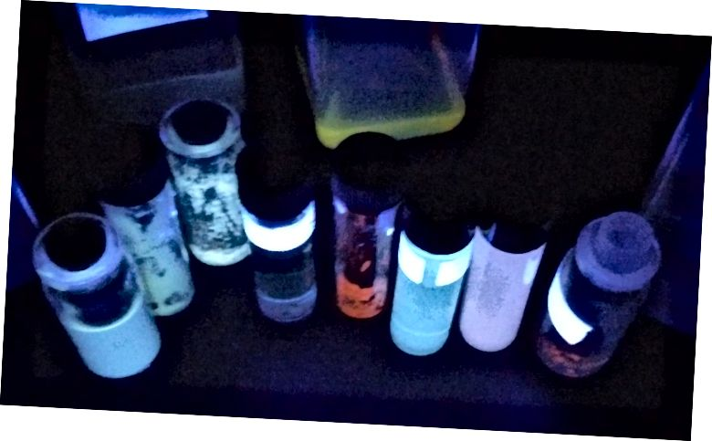 אוסף הננו-חלקיקים הפנימיים הצבעוניים שלי