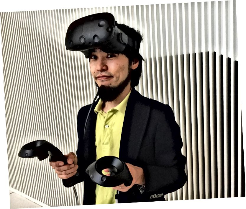 Ο Takahito Ito πέρασε ένα χρόνο στο MIT Media Lab ως επισκέπτης επιστήμονας από το NHK. Πίστωση: MIT Media Lab