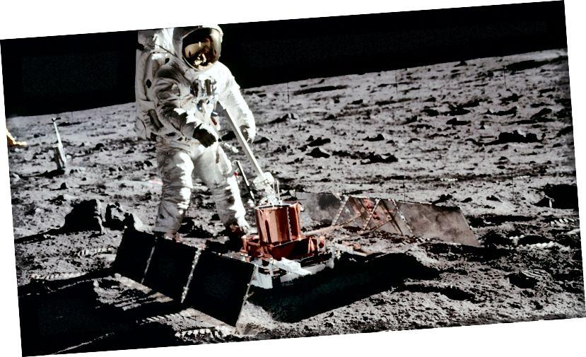 """Passiivne seismiline eksperiment oli esimene seismomeeter, mis asetati Kuu pinnale. See tuvastas Kuu """"moonquakes"""" ja andis teavet Kuu sisemise struktuuri kohta. See katse uuris seismiliste lainete levikut Kuu kaudu ja andis esimese üksikasjaliku ülevaate Kuu sisestruktuurist. (NASA, 2017)"""