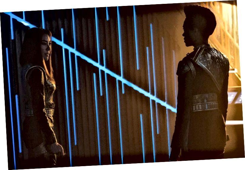 Die Situation ohne Gewinn scheint das zentrale Thema der neuesten Episode von Star Trek: Discovery zu sein, wobei die Charaktere nicht bereit sind, dies auf ihre eigene Weise zu akzeptieren. Bildnachweis: Ben Mark Holzberg / CBS © 2017 CBS Interactive.
