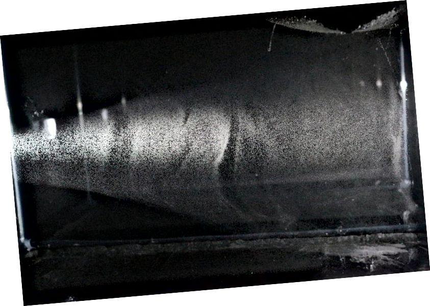 Гатовая камера ў воблаку можа быць пабудавана за адзін дзень з даступных матэрыялаў і менш за 100 долараў. З яго дапамогай можна даказаць справядлівасць Эйнштэйна, калі вы ведаеце, што робіце! Крэдыт малюнка: карыстальнік Instructables ExperiadingPhysics.