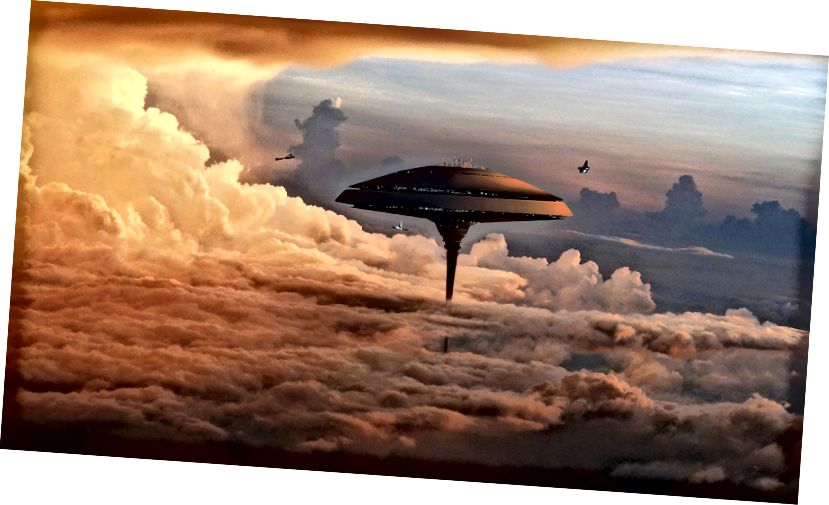 Cloud City, Bespin, ón tsraith Star Wars.