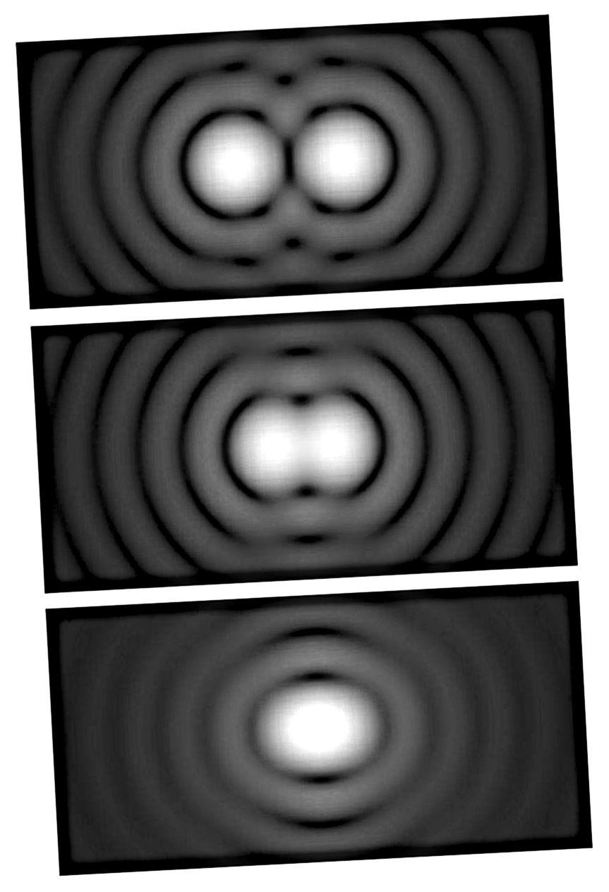 Ograničenja razlučivosti određena su iz tri faktora: promjerom vašeg teleskopa, valnom dužinom svjetla u kojem gledate i kvalitetom vaše optike. Ako imate savršenu optiku, možete se riješiti sve do Rayleigh-ove granice, što vam daje najveću moguću razlučivost koju dopušta fizika. (SPENCER BLIVEN / JAVNI DOMAĆIN)