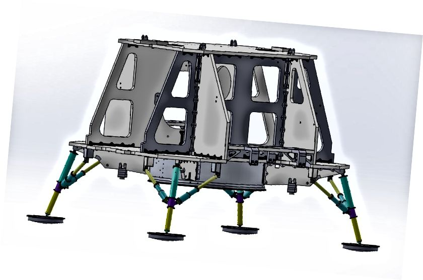 Основная структура космического корабля, обеспечивающая безопасность подсистем и полезных нагрузок.