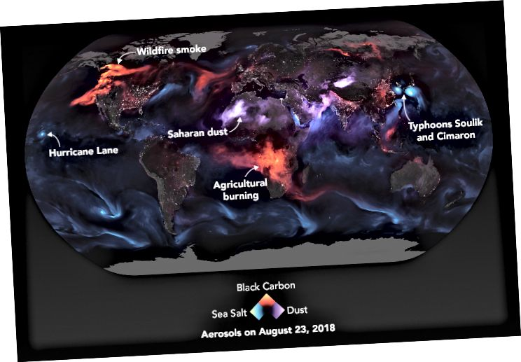 Крыніца: NASA (2018)